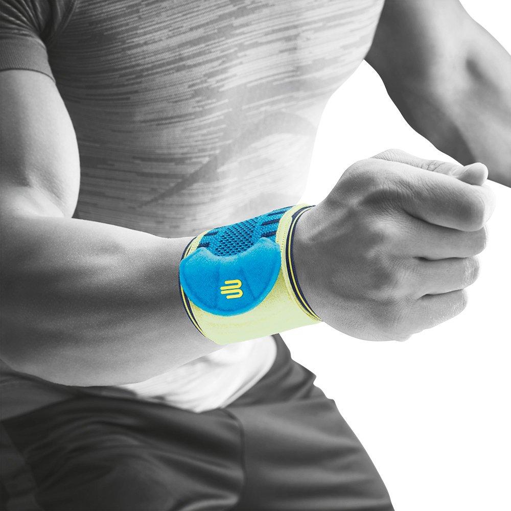 Rechts und links tragbar 1 Unisex Handgelenk-Sportbandage Bauerfeind F/ür Training und Wettkampf