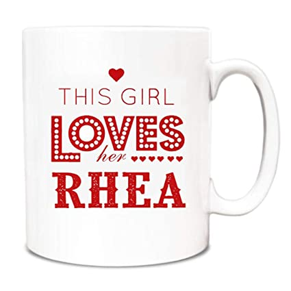 Best Mothers Day Gifts For Wife Mugs This Girl Loves Her Rhea - Unique Gifts For  sc 1 st  Amazon.com & Amazon.com: Best Mothers Day Gifts For Wife Mugs This Girl Loves Her ...