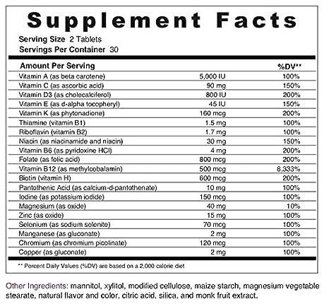 Amazon.com: BariMelts Multivitamin Bariatric Vitamins, Weight Loss ...