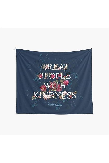 GuDeKe Treat People with Kindness Key Chain