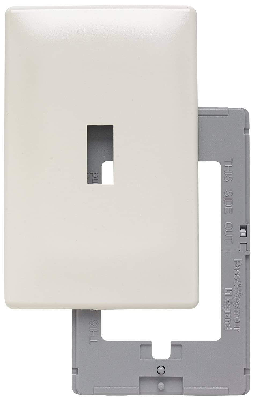 Pass & Seymour SWP26LABPCC10 Screw Less Wall Plate Plastic Sub ...