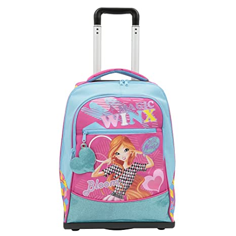 84e187dc42 Winx Trolley Spinner Con Gadget: Amazon.it: Valigeria