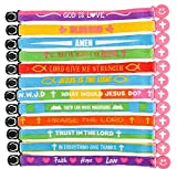 150PC RELIGIOUS FRIENDSHIP BRACELET ASSORTMENT, Perfect for church events, youth groups, and fundraising endeavors.