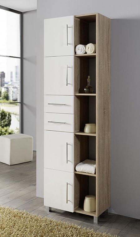 Amazonde DreamsHome Multifunktionsschrank Surro Bad Badezimmer - Badezimmer hochschranke