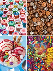 Master Pieces Sweet Shoppe Ice Cream Love Jigsaw Puzzle