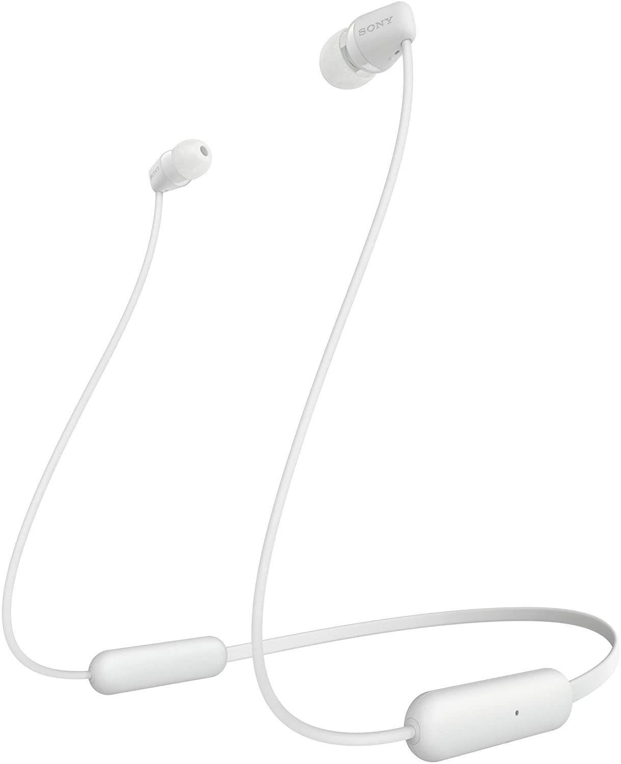Sony WI-C200 Wireless Neck-Band Headphones With Up To 15