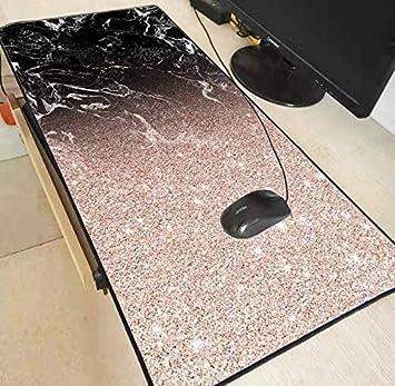 DJSK Alfombrilla de ratón de Gran tamaño Mesa de mármol ...
