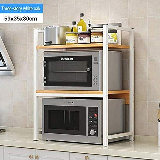 YXLYLL - Estante de Cocina para Cocina, microondas, Horno ...