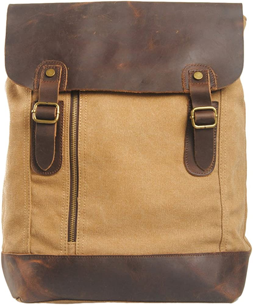 Zhuhaitf Casual Student Travel Backpack Unisex Shoulder Bags Leisure for Men Women