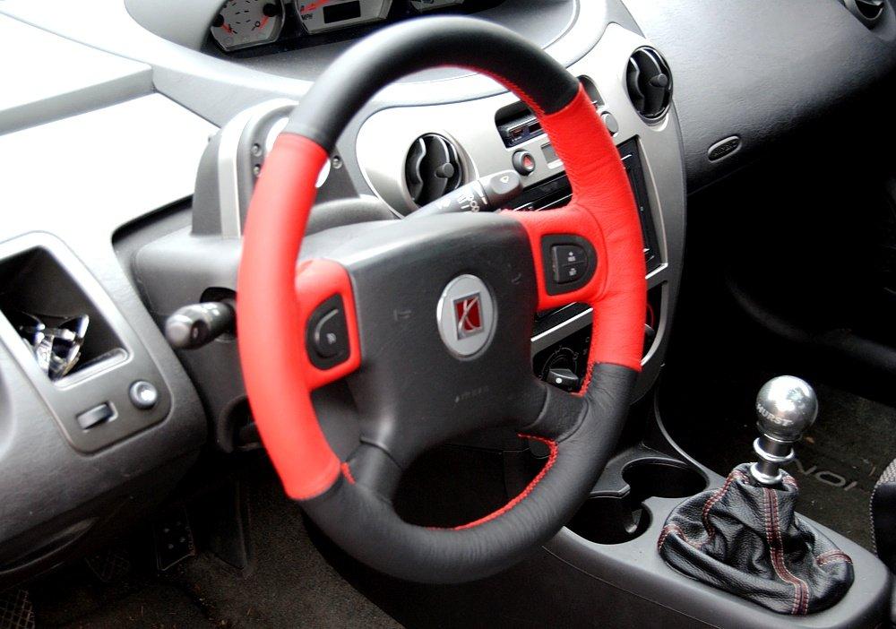 Amazon.com: RedlineGoods Saturn ION 2003-07 cubierta del volante de: Automotive