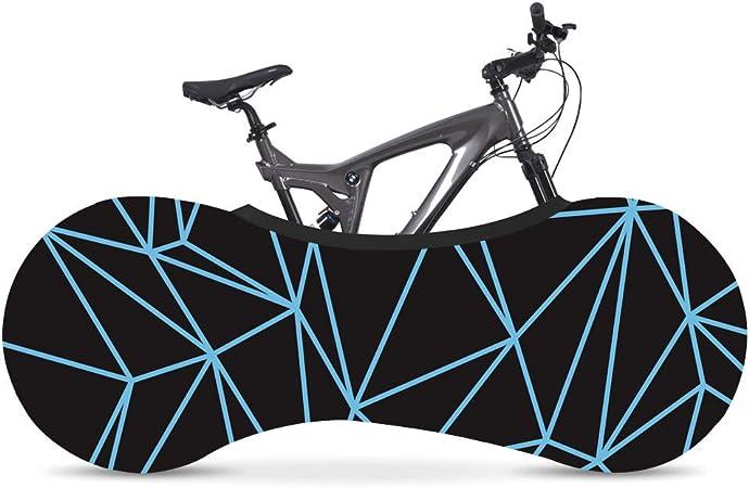 La Mejor Soluci/ón para Mantener Su Interior Limpio para Bicicletas De Adultos Wooden fish Funda Bici para Interiores Funda para Bicicleta Exterior Cubierta Interior De Bicicleta
