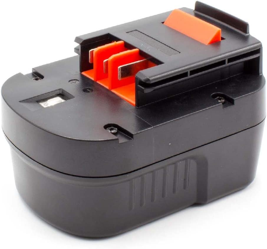 para herramienta el/éctrica powertools tools Black /& Decker FS12PS HP122KD HP122K FSD122 HP126F2B 12V FS12PSK vhbw NiMH bater/ía 1500mAh