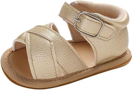 Dreamyth-Shoes 0-15 Meses bebé bebé niñas niños Princesa Zapatos Prewalker Sandalias: Amazon.es: Deportes y aire libre