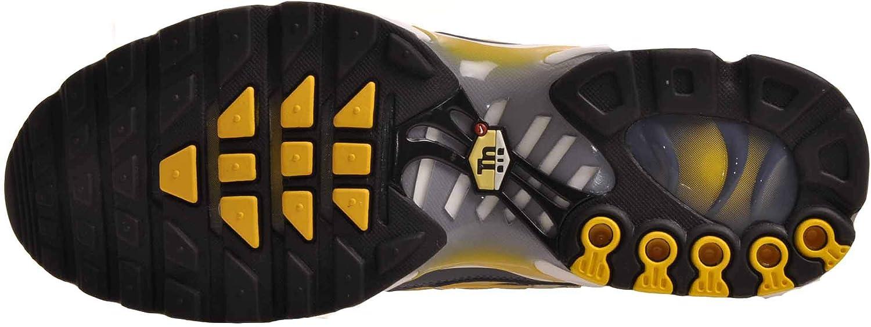 Nike Air Max Plus OG Mens Running Shoes Steele/Spun Yellow