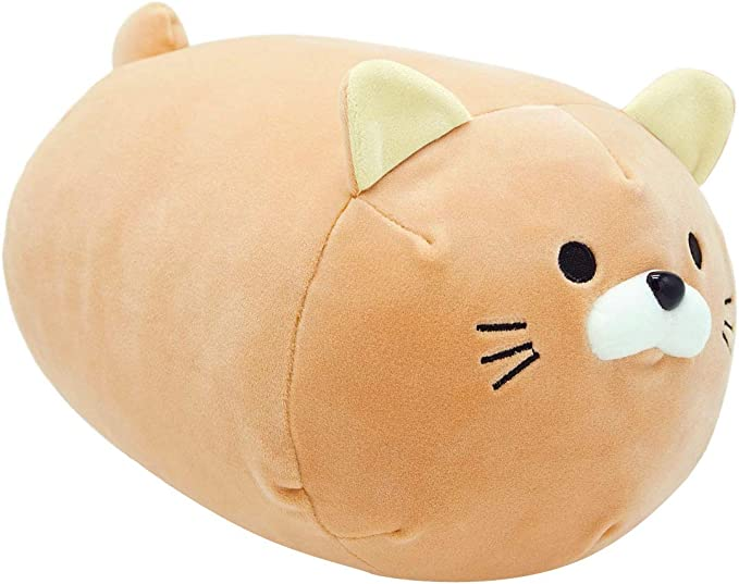LAFANDE Cat Plush Soft Toys Cat Hugging Pillow for Kids Girlfriend Stuffed Animals Plush Soft Toy Cute Stuffed Kitten Pillow Doll Toy