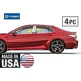 TYGER For 2009-2013 Toyota Matrix Stainless Steel Chrome Pillar Post Trim 6PC