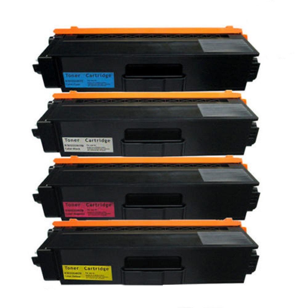 Febe New Compatible TN331 Toner Cartridge for MFC-L8600CDW MFC-L8850CDW Printers - 1 Black - 1 Cyan - 1 Magenta - 1 Yellow