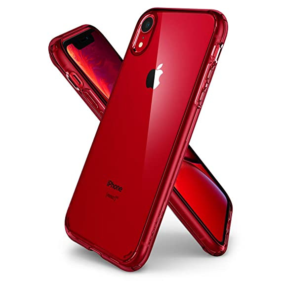 Amazon Com Spigen Ultra Hybrid Designed For Apple Iphone Xr Case