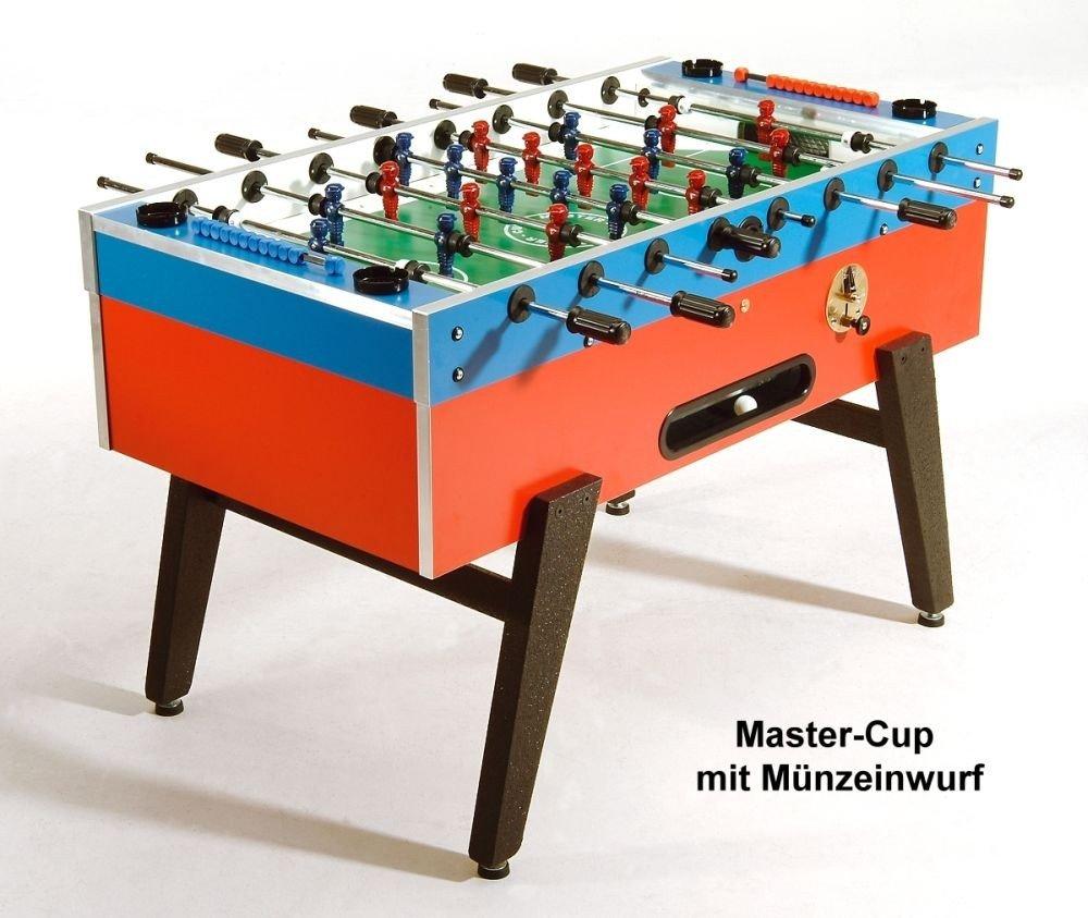 Tischkicker mit Münzeinwurf Master-Cup