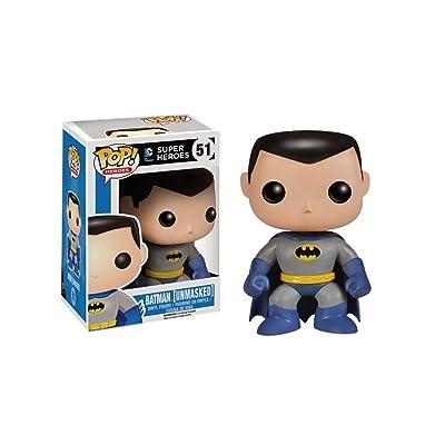 Funko POP! DC Comics Batman Unmasked #51 Vinyl Figure: Toys & Games