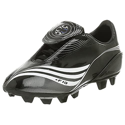 684c7c80d adidas Little Kid/Big Kid +F10.7 TRX FG Soccer Cleat,Black/White,2 M US  Little Kid: Amazon.ca: Shoes & Handbags