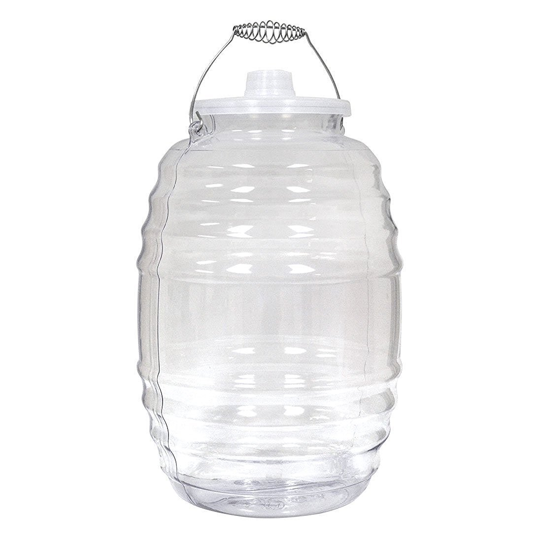 Royal Cook Vitro5CX1 Plastic Water Container With Lid Clear 5 gallon