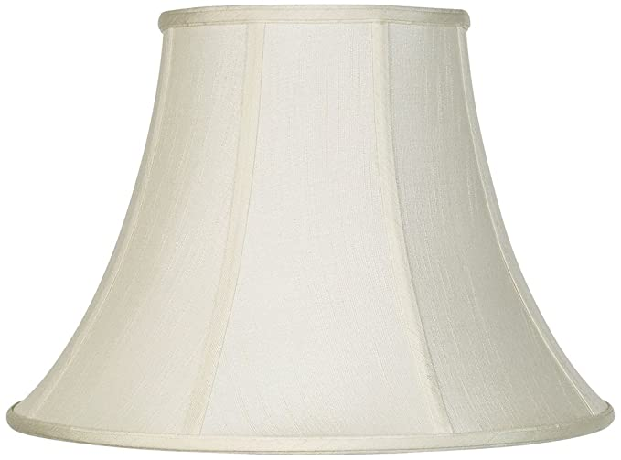 Creme bell lamp shade 9x18x13 spider lampshades amazon creme bell lamp shade 9x18x13 spider aloadofball Image collections