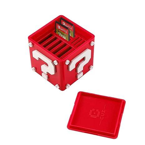 MOGOI Tarjeta de Juego pequeño Caso, Titular de la Tarjeta de Juego con 8 Ranuras de Tarjeta de Juego y 4 titulares de Tarjeta Micro SD para Nintendo ...