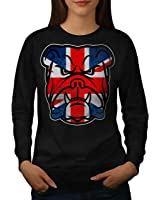 Brittish Bull Dog Flag UK Women S-2XL Sweatshirt | Wellcoda