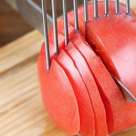 AOLVO - Soporte para cebollas para Cortar, Acero Inoxidable, para ...