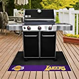 FANMATS - 14208 - NBA - Los Angeles Lakers Grill Mat 26x42