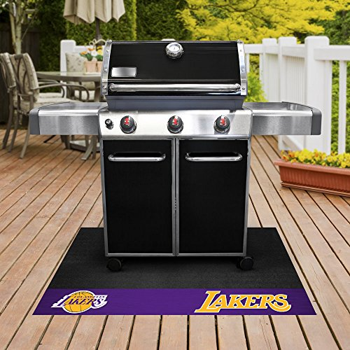 FANMATS - 14208 - NBA - Los Angeles Lakers Grill Mat 26x42 by Fanmats