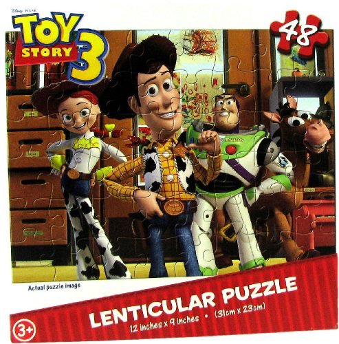 Toy Story Piece Lenticular Puzzle