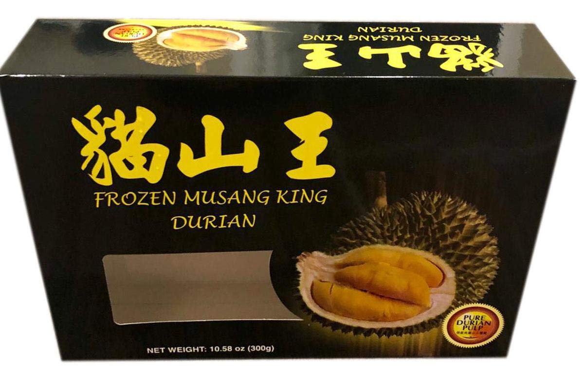 Frozen Musang King Durian - 10.58oz (Pack of 1)