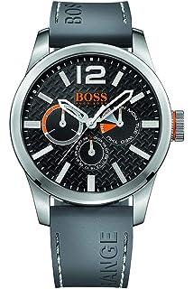 19505322fe0a Hugo Boss Orange 1513251 - Reloj análogico de cuarzo con correa de silicona  para hombre