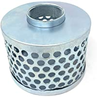 100 GPM 100 Mesh Size 3 Male NPT 3 Male NPT Flow Ezy Filters Inc Aluminum Support Tube and End Cap P100 3 NIPPLE 100 AL Suction Strainer with Nylon Connector End