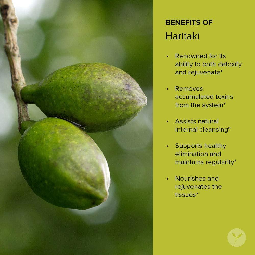 Banyan Botanicals Haritaki - USDA Certified Organic, 90 Tablets - Terminalia chebula - Detoxification & Rejuvenation*: Health & Personal Care