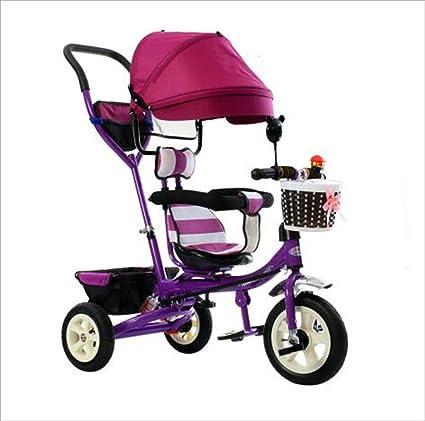 bicicleta de bebé Triciclo Carrito de bebé Bicicleta de juguete para niños Bicicleta de rueda inflable