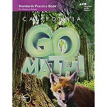 Houghton Mifflin Harcourt Go Math! California: Practice Workbook Grade 3