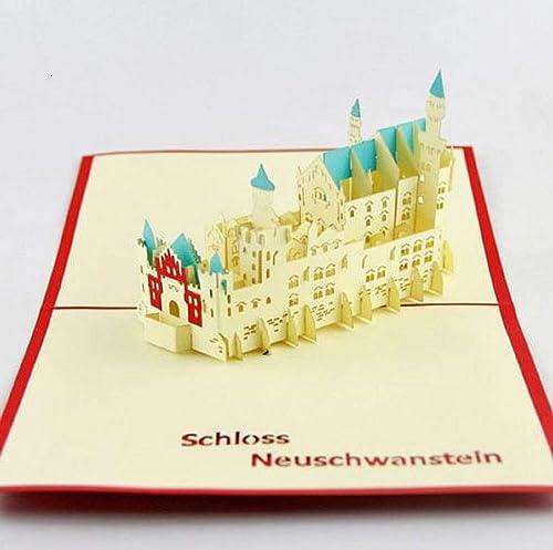 BC Worldwide Ltd Tarjeta emergente 3D hecha a mano, Navidad ...