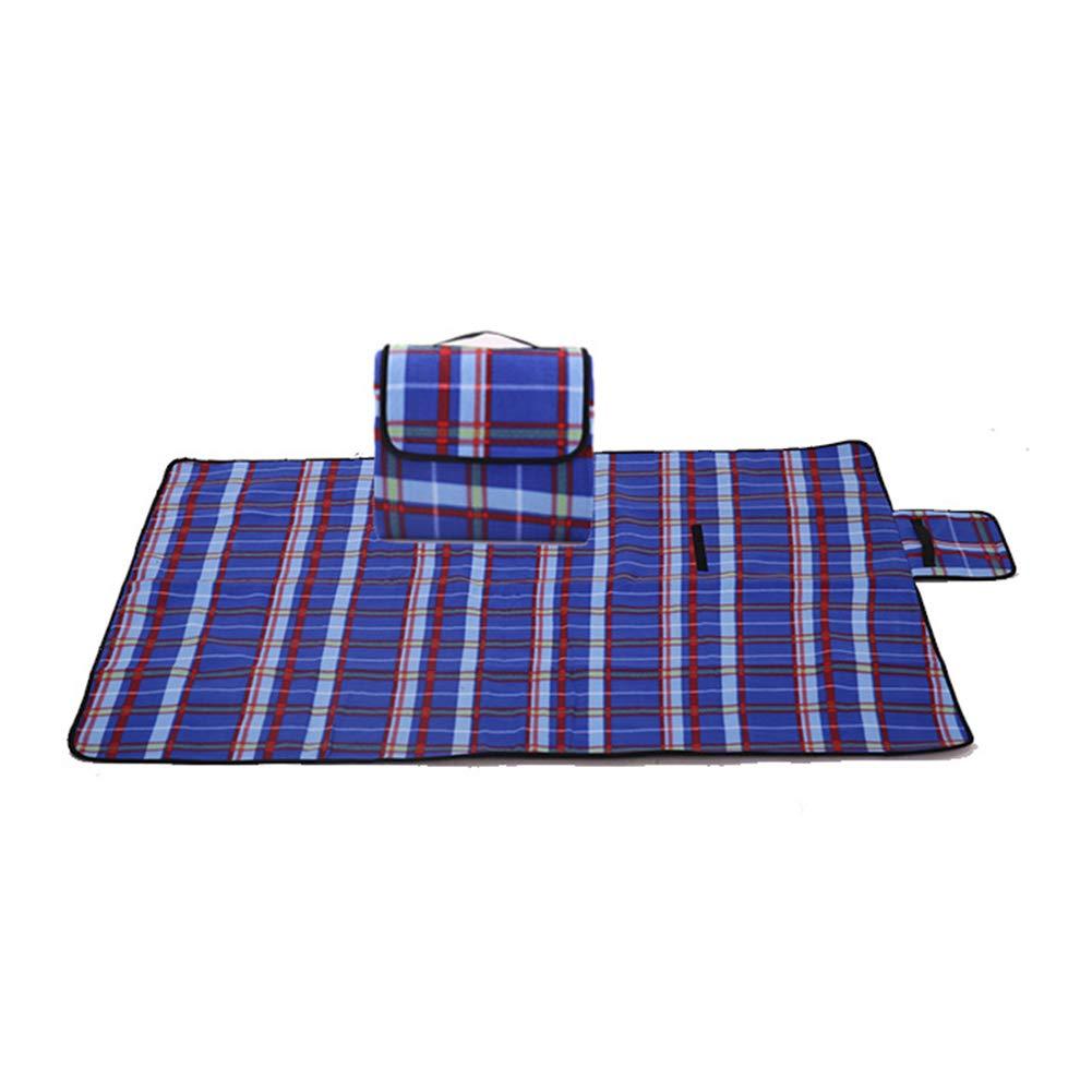 SHKY Picknickdecke mit wasserfester Unterlage, verdickte Picknickkissen für Strandcamping, Ruhende Ruhetage für die Familie, Garten, Camping, Reisen B07Q83DY4G | Der neueste Stil