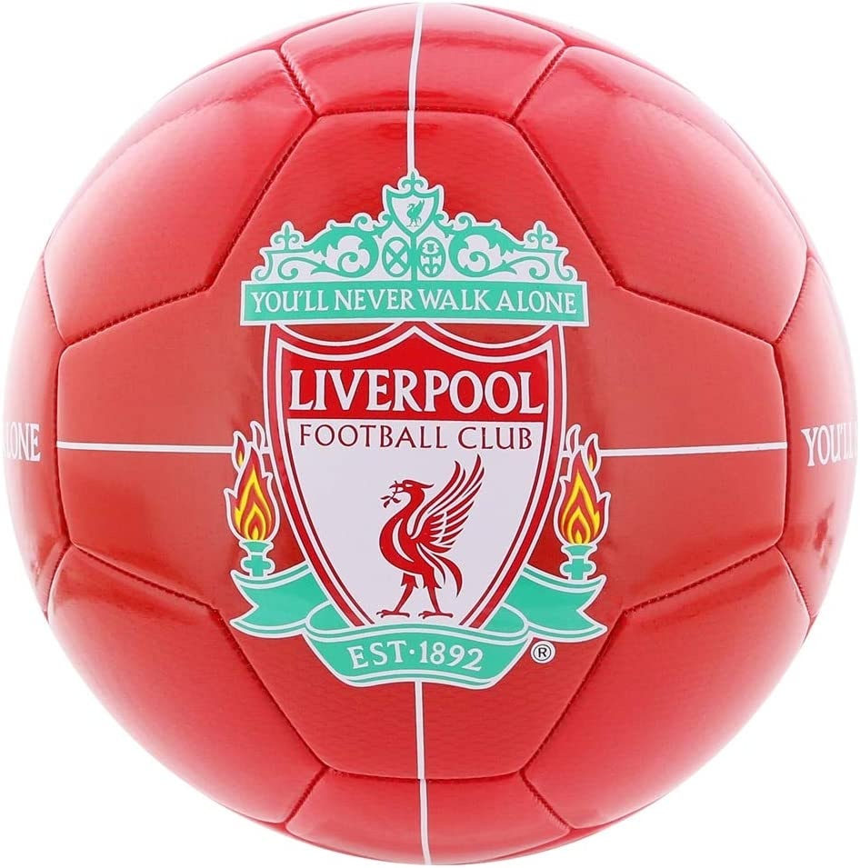 FC Liverpool - Pelota de fútbol (Talla 5): Amazon.es: Deportes y ...