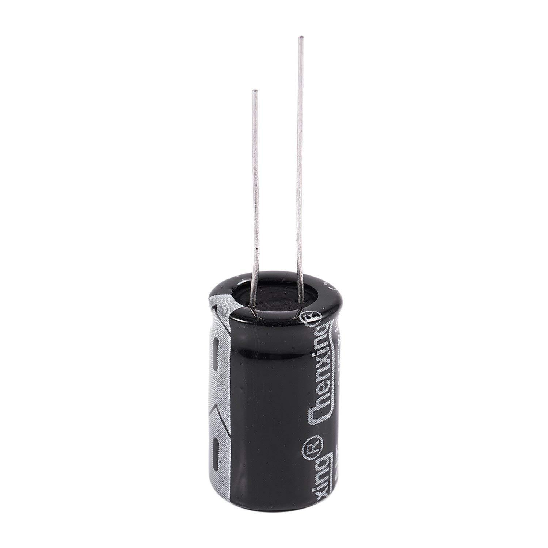 Gaoominy 10 Pz 35V 1000Uf 105C Condensatore Elettrolitico A Conduttori Radiali 13Mm X 20Mm