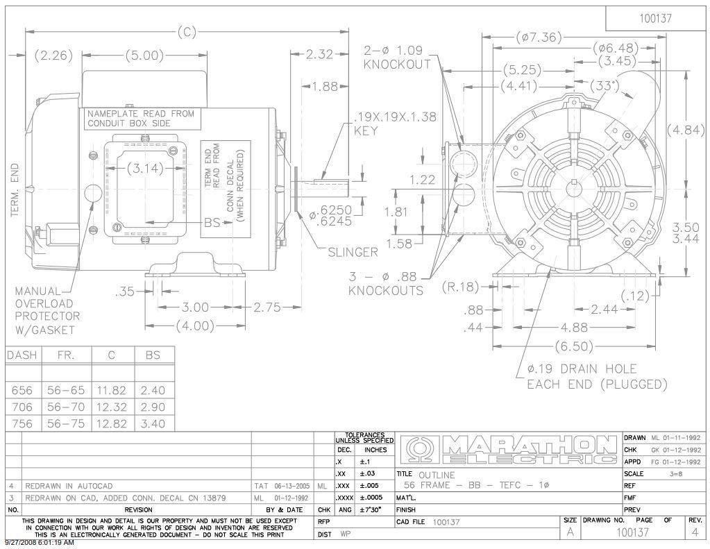 Marathon F103 Farm Duty High Torque Motor, Single Phase Capacitor Start, on psc capacitor wiring, 115 v capacitor wiring, single phase capacitor motor, power capacitor wiring, single phase run capacitor, dc capacitor wiring, 220v capacitor wiring, single phase motor connection diagrams, motor capacitor wiring, run capacitor wiring, pump capacitor wiring, single phase electric motor diagram, 1 hp baldor capacitor wiring,