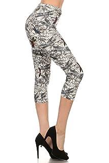 30e95c0150e Leggings Depot High Waisted Capri Leggings - Soft & Slim - 37+ ...