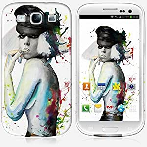 Galaxy S3 case - Skinkin - Original Design : Lady gaga by Denise Esposito wangjiang maoyi