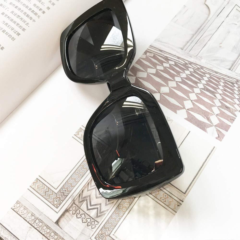 Ularma NEW Fashion Glasses Oversized Square Luxury Sunglasses Gradient Lens Vintage Women Fashion Eyewear