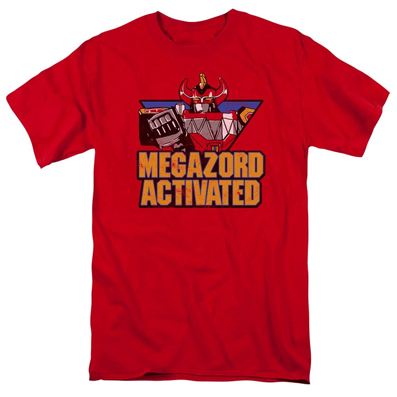 Power Rangers - Mens Megazord Activated T-Shirt