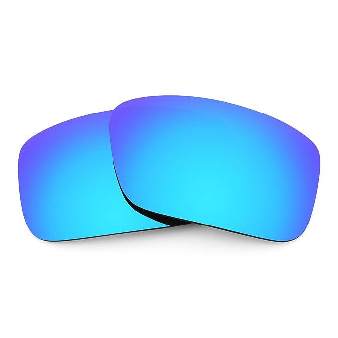 Revant Lentes polarizados para Arnette Big Deal AN4168 (Azul Hielo) MirrorShield®