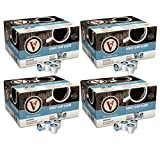 Victor Allen Coffee, Donut Shop Single Serve K-cup, 80 Count (Compatible with 2.0 Keurig Brewers) (Donut Shop, 80 Count 4 pack)